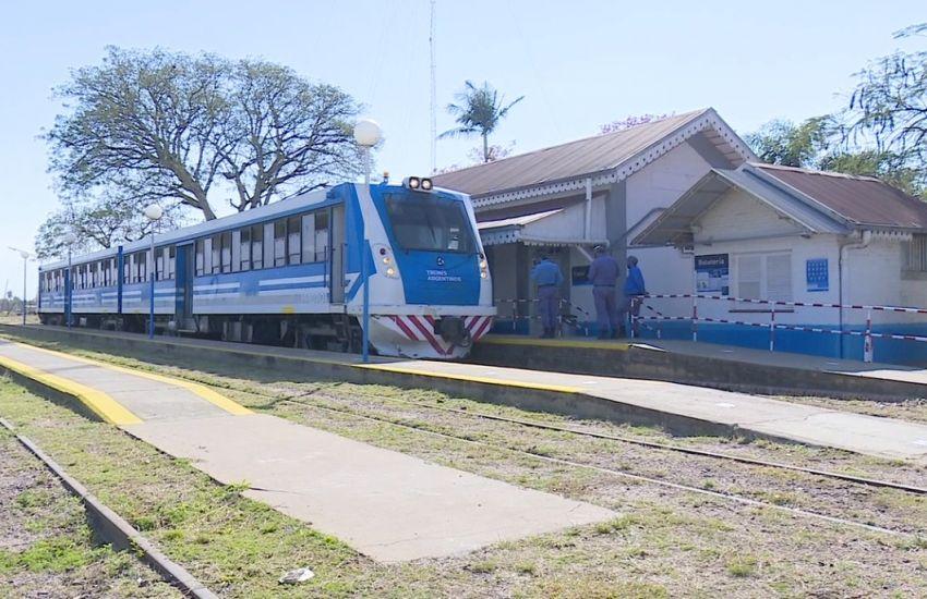 Este lunes se oficializa la reactivación del Tren Metropolitano en el tramo Cacuí-Resistencia