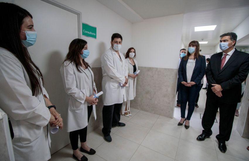 EL GOBIERNO INAUGURÓ LAS REFACCIONES DEL CENTRO DE SALUD DE VILLA DON ALBERTO