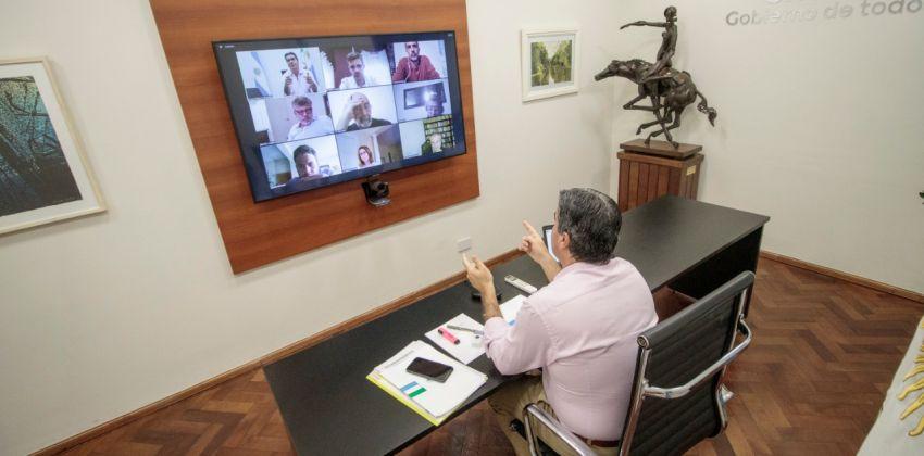 CAPITANICH PARTICIPÓ DE UN CONVERSATORIO JUNTO A EXPERTOS EN CIENCIAS POLÍTICAS PARA ANALIZAR LAS MEDIDAS SOCIOECONÓMICAS EN EL MARCO DE LA PANDEMIA