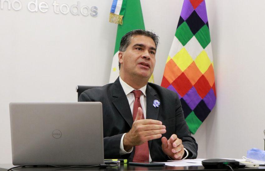 """Capitanich: """"Nuestro desafío es lograr una hidrovía que promueva y desarrolle a las economías regionales"""""""