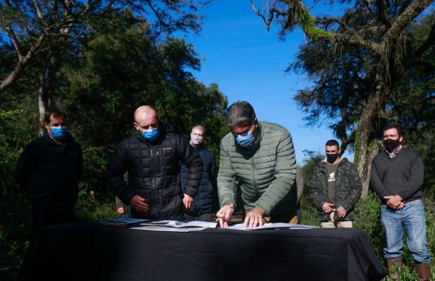 Chaco fortalece el trabajo en conjunto para la conservación del bosque nativo