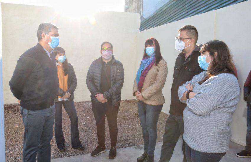 Capitanich inauguró un centro de salud mental para pacientes con medidas de seguridad, el primero en el nea